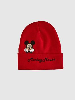 RED - Boy Mickey Mouse Licensed Knitwear Beanie