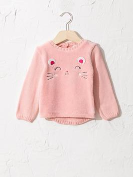 PINK - Baby Girl's Tricot Jumper