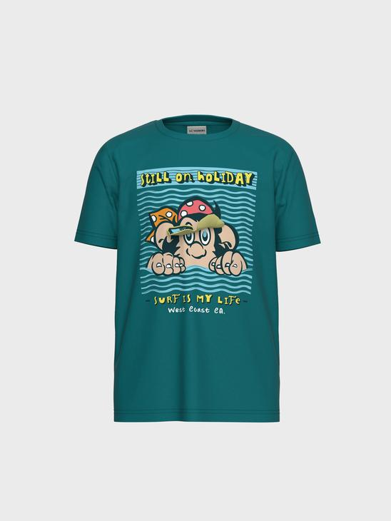 TURQUOISE - T-Shirt - 0SK329Z4