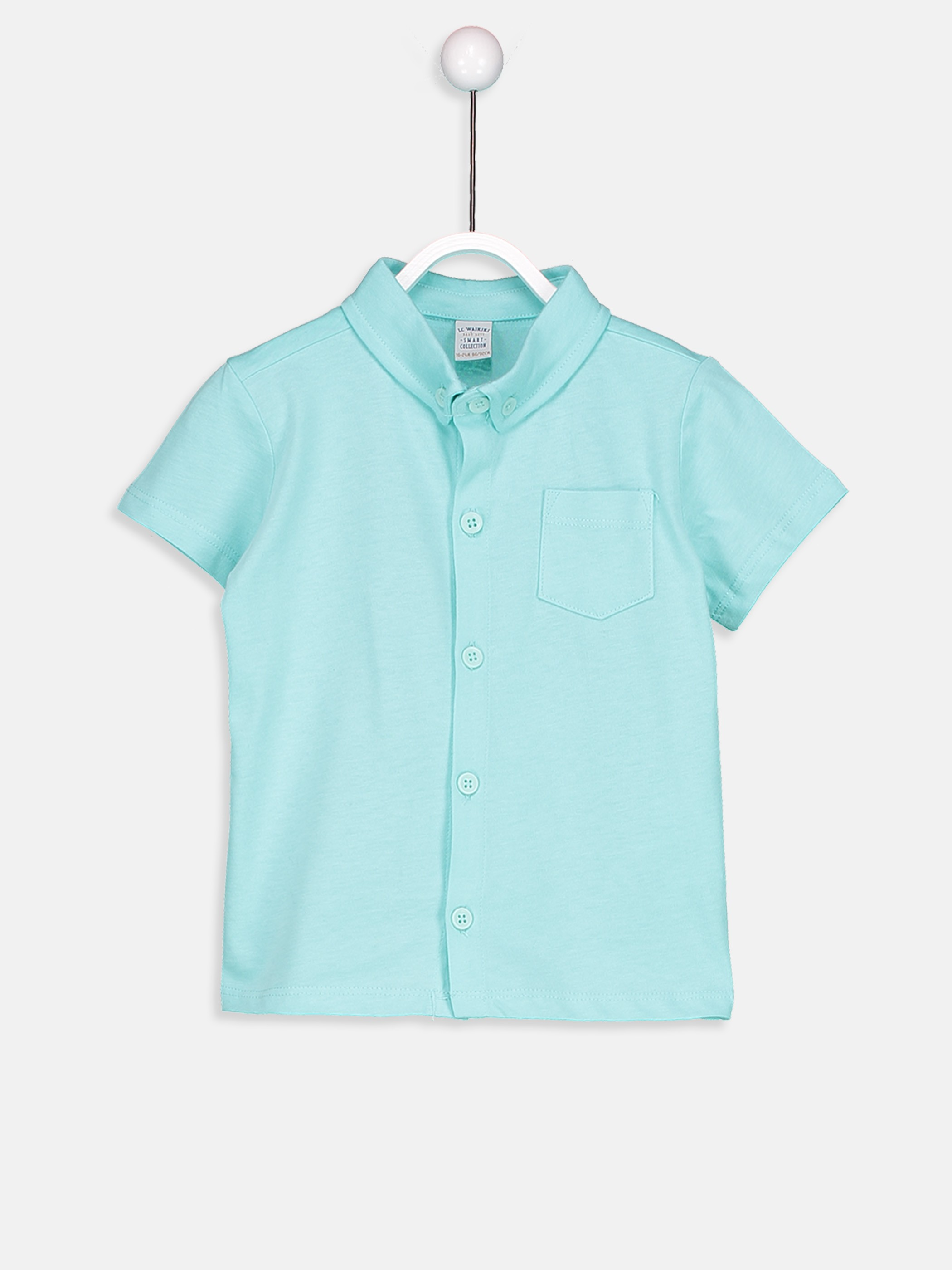 TURQUOISE - T-Shirt - 8SI753Z1