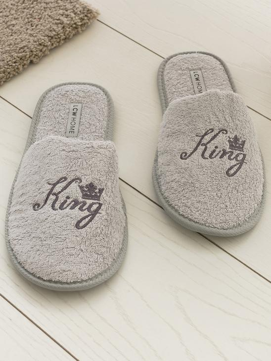 GREY - Bathroom Slippers - 8SJ009Z8