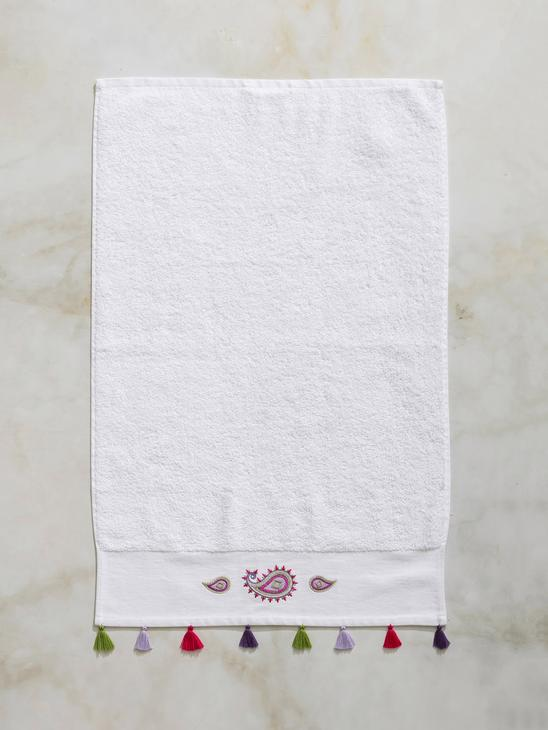 WHITE - Face Towel - 8SJ018Z8