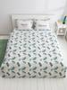 GREEN - Double Duvet Cover - 8SK162Z8