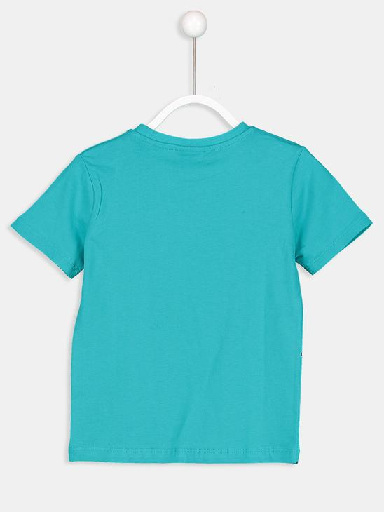 TURQUOISE - T-Shirt - 8SK220Z4