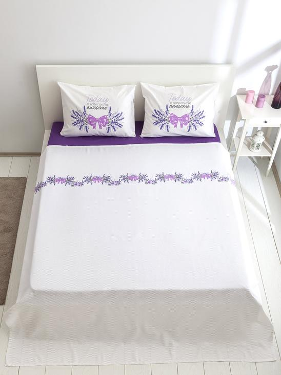 LILAC - Double Coverlet - 8SK477Z8