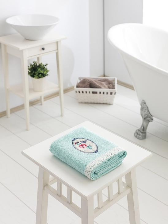 TURQUOISE - Face Towel - 8SA205Z8