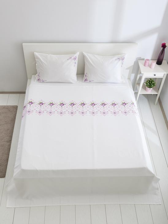 WHITE - Double Coverlet - 8SA299Z8