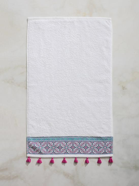 WHITE - Face Towel - 8SA572Z8