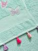 TURQUOISE - Face Towel - 8SA584Z8