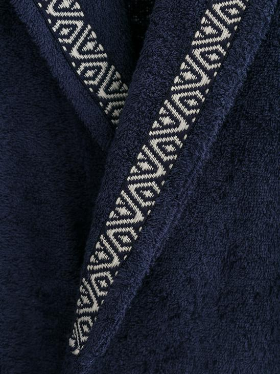 NAVY - Men's Bathrobe - 8SB018Z8