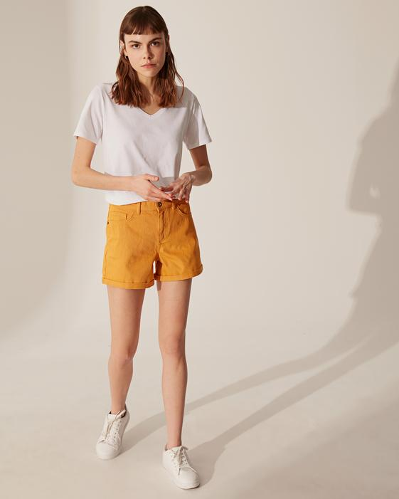 YELLOW - Jean Shorts - 0SB225Z8