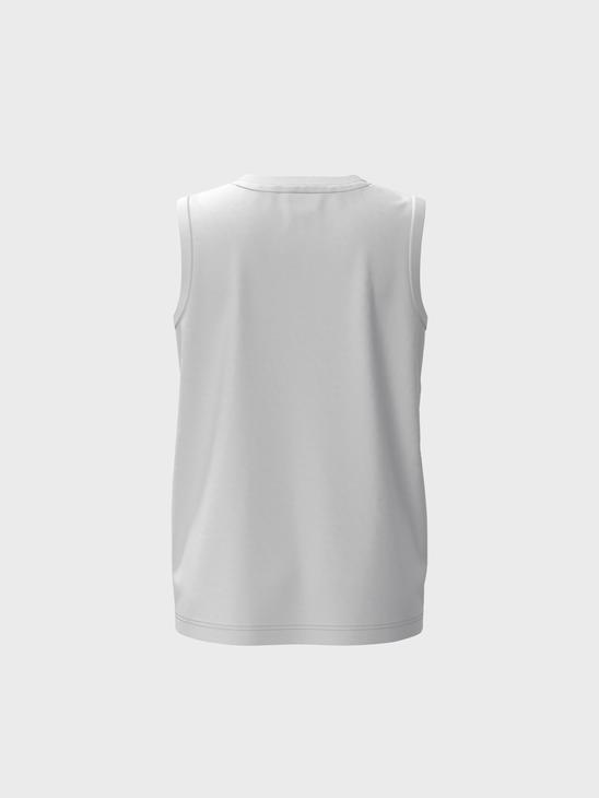 WHITE - Boy's Colour-Changing Print in the Daylight Cotton Tank Top - 0SB637Z4