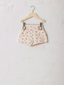 ECRU - Baby Girl's Printed Shorts