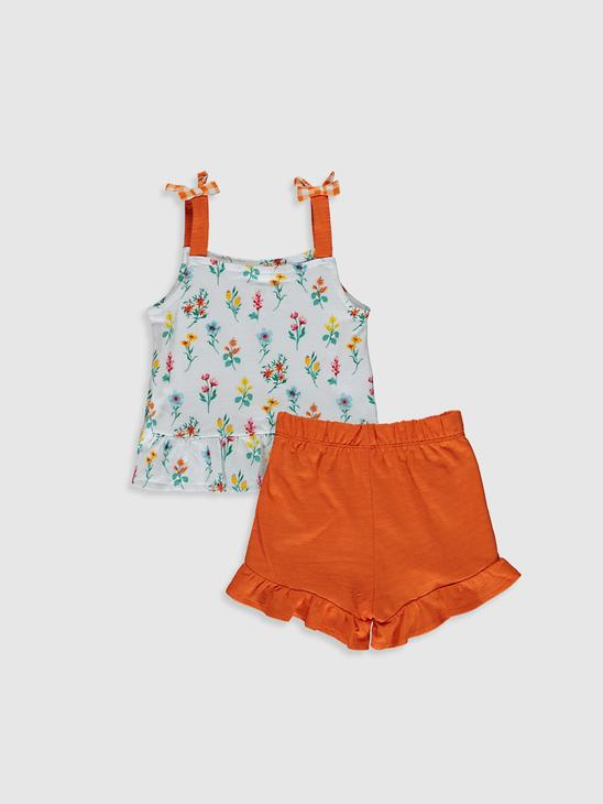 ECRU - Baby Girl's T-Shirt and Shorts - 0SD111Z1