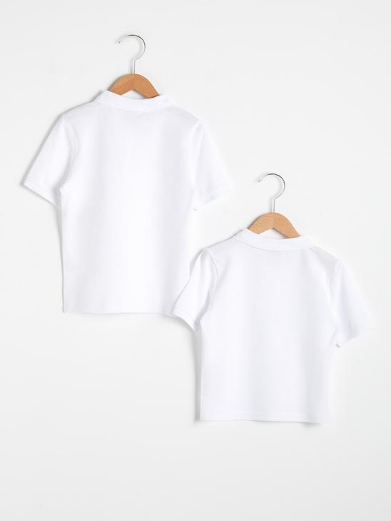 WHITE - 2-pack Boy's Cotton T-Shirt - 0W2374Z4