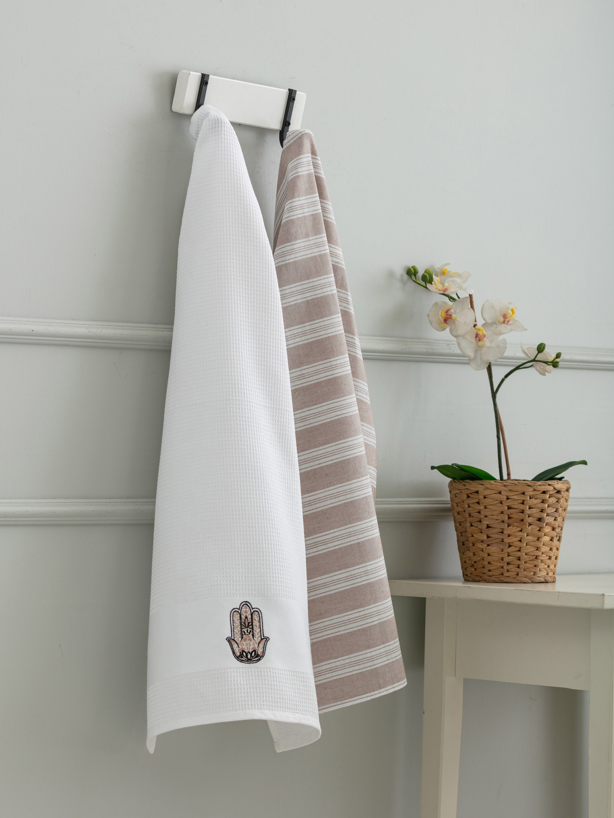 BEIGE - 2-pack Drying Towel - 0SD966Z8