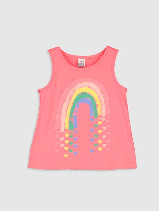 PINK - 2-pack Baby Girl's Printed Tank Top - 0SD722Z1