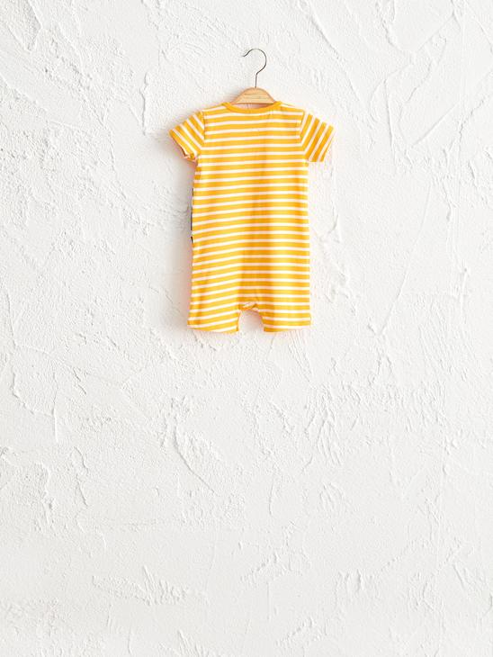 YELLOW - Baby Boy's Printed Jumpsuit - 0SE353Z1