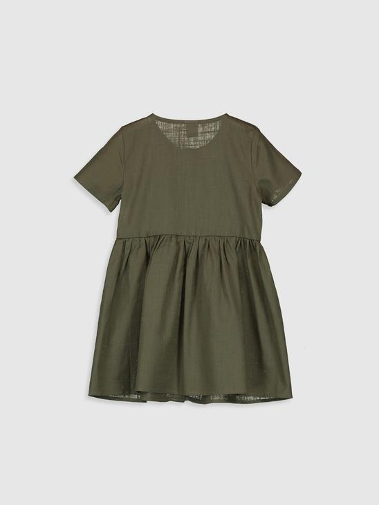 KHAKI - Baby Girl's's Dress Mother and Daughter Matching - 0SE706Z4