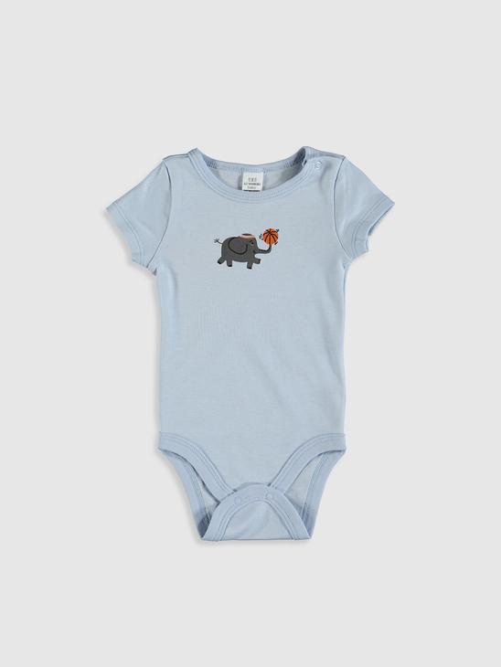BLUE - Baby Boy's Printed Bodysuit - 0SE968Z1