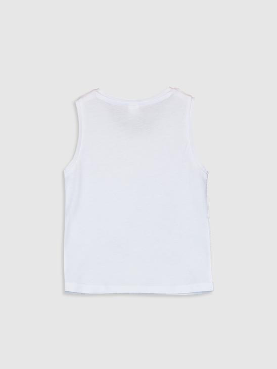 WHITE - Baby Boy's Printed Tank Top Family Matching - 0SF295Z1