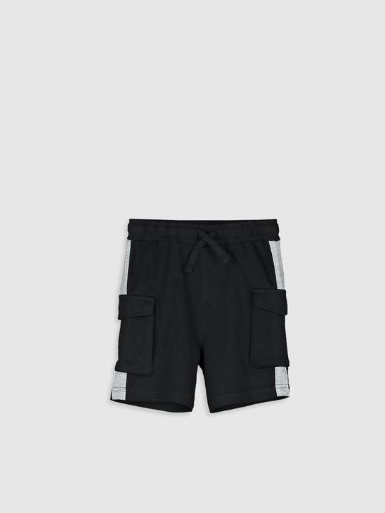 BLACK - Baby Boy's Shorts Father and Son Matching - 0SF619Z1