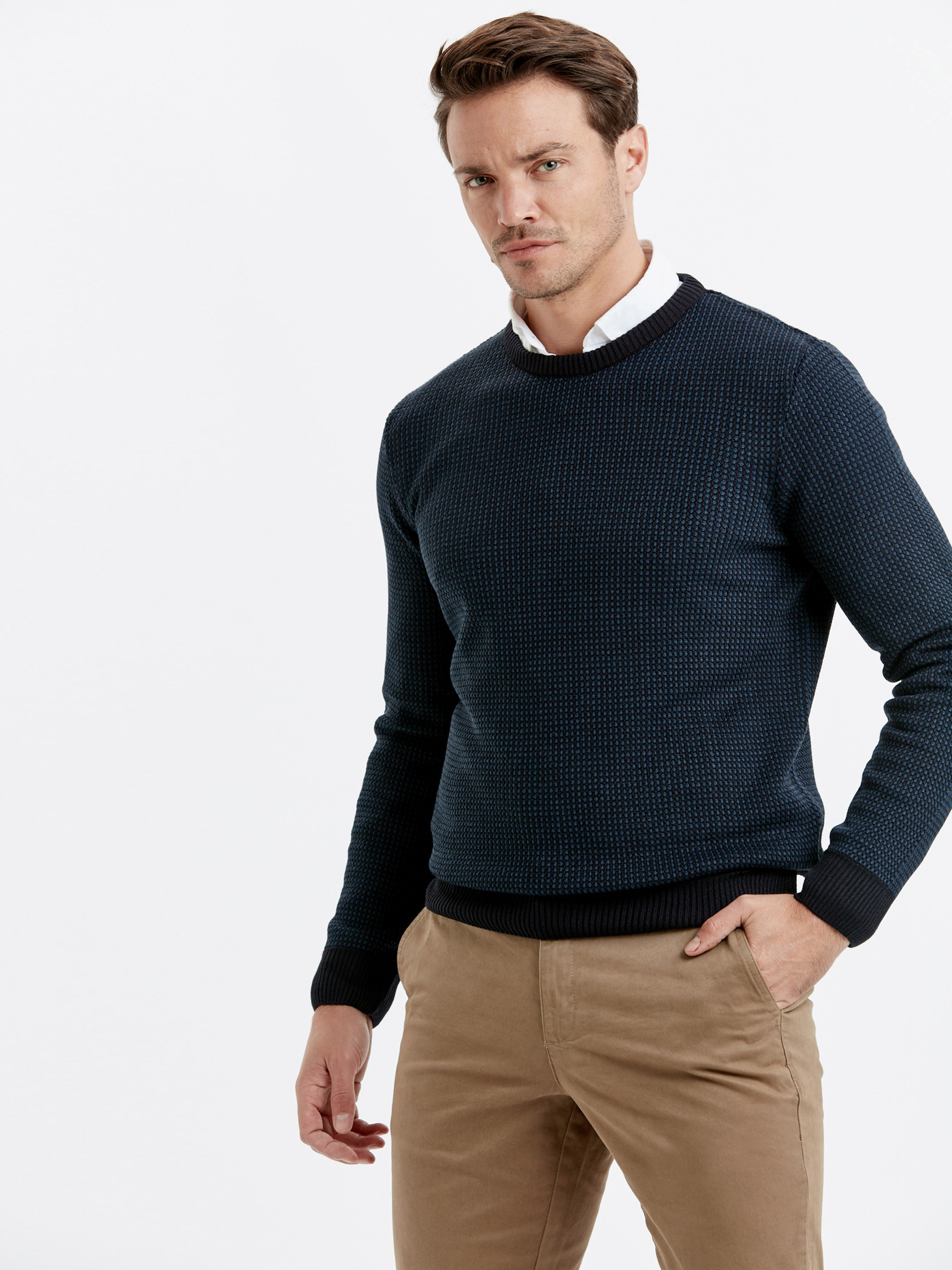 NAVY - Jumper - 8W1072Z8