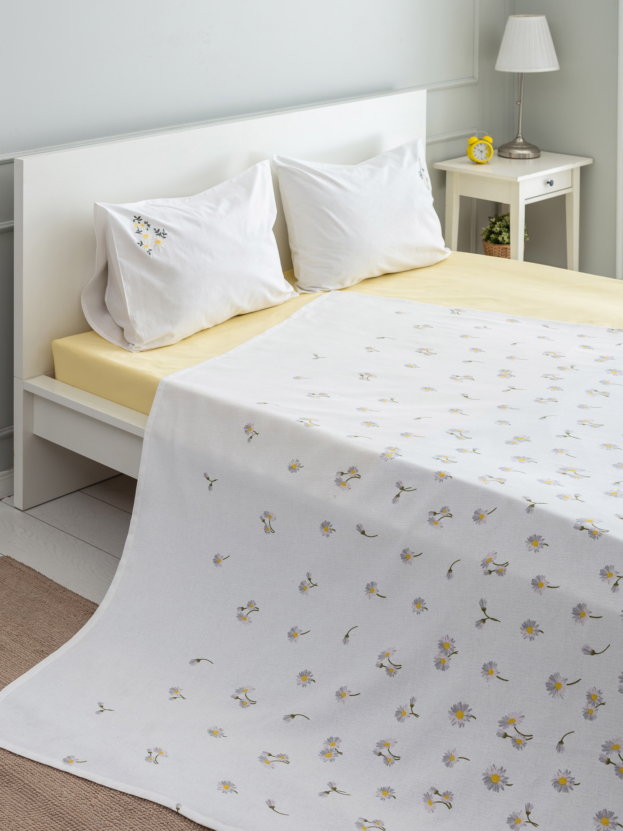 YELLOW - Double Coverlet - 0SP172Z8