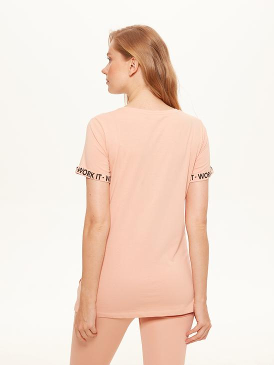 PINK - Letter Printed Maternity T-Shirt - 0SQ033Z8