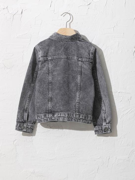 GREY - Girl's Jean Jacket - 0W7142Z4