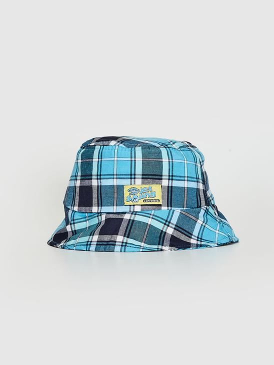 BLUE - Boy Plaid Bucket Hat - 0SS300Z4
