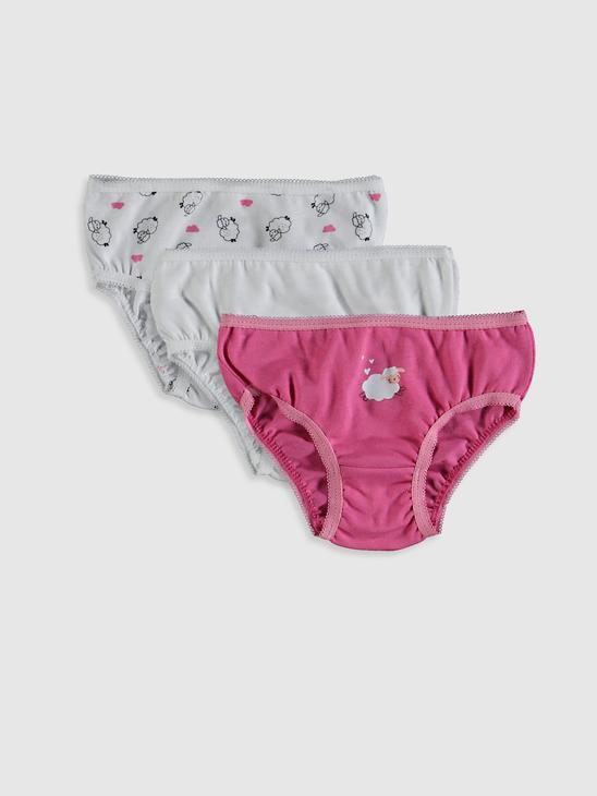 PINK - 3-pack Baby Girl's Briefs - 0W8332Z1