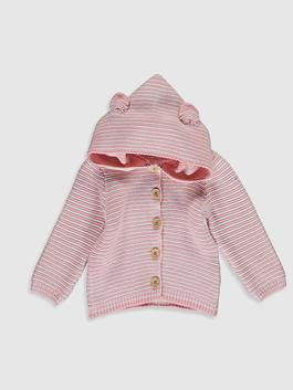PINK - Baby Girl's Tricot Cardigan