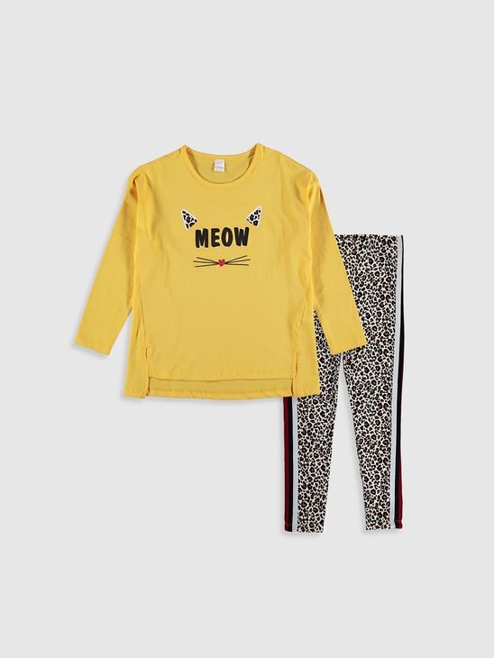 YELLOW - Pyjamas Set - 0ST395Z4