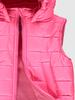 PINK - Girl's Puffer Vest with Hood - 0SU403Z4