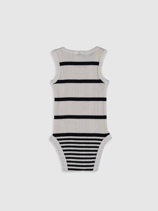ECRU - Baby Boy's Striped Bodysuit - 0SV230Z1
