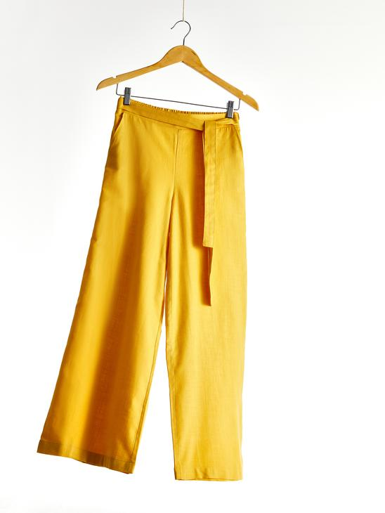 YELLOW - Trousers - 0SV438Z8