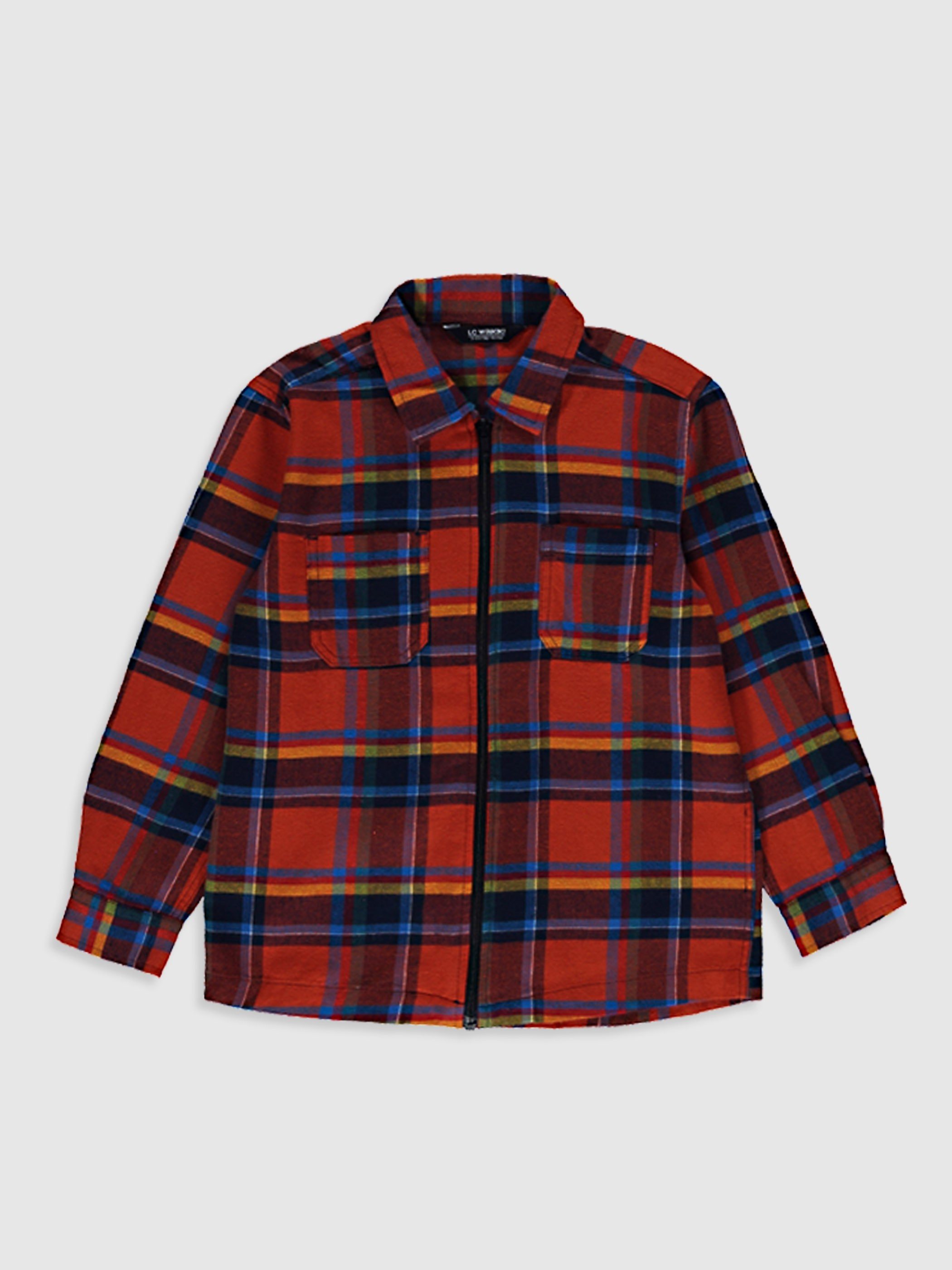 ORANGE - Boy's Chequered Shirt - 0WG862Z4