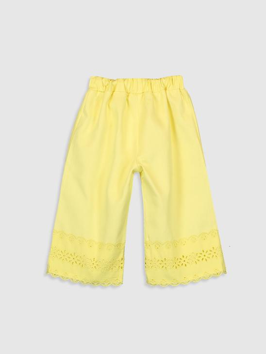 YELLOW - Baby Girl's Trousers - 0SV645Z1