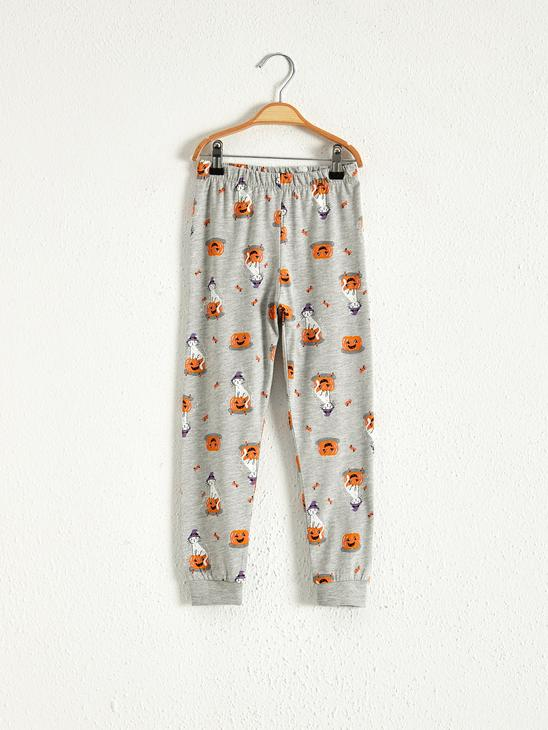 ORANGE - Girl's Printed Pyjamas Set - 0WH495Z4