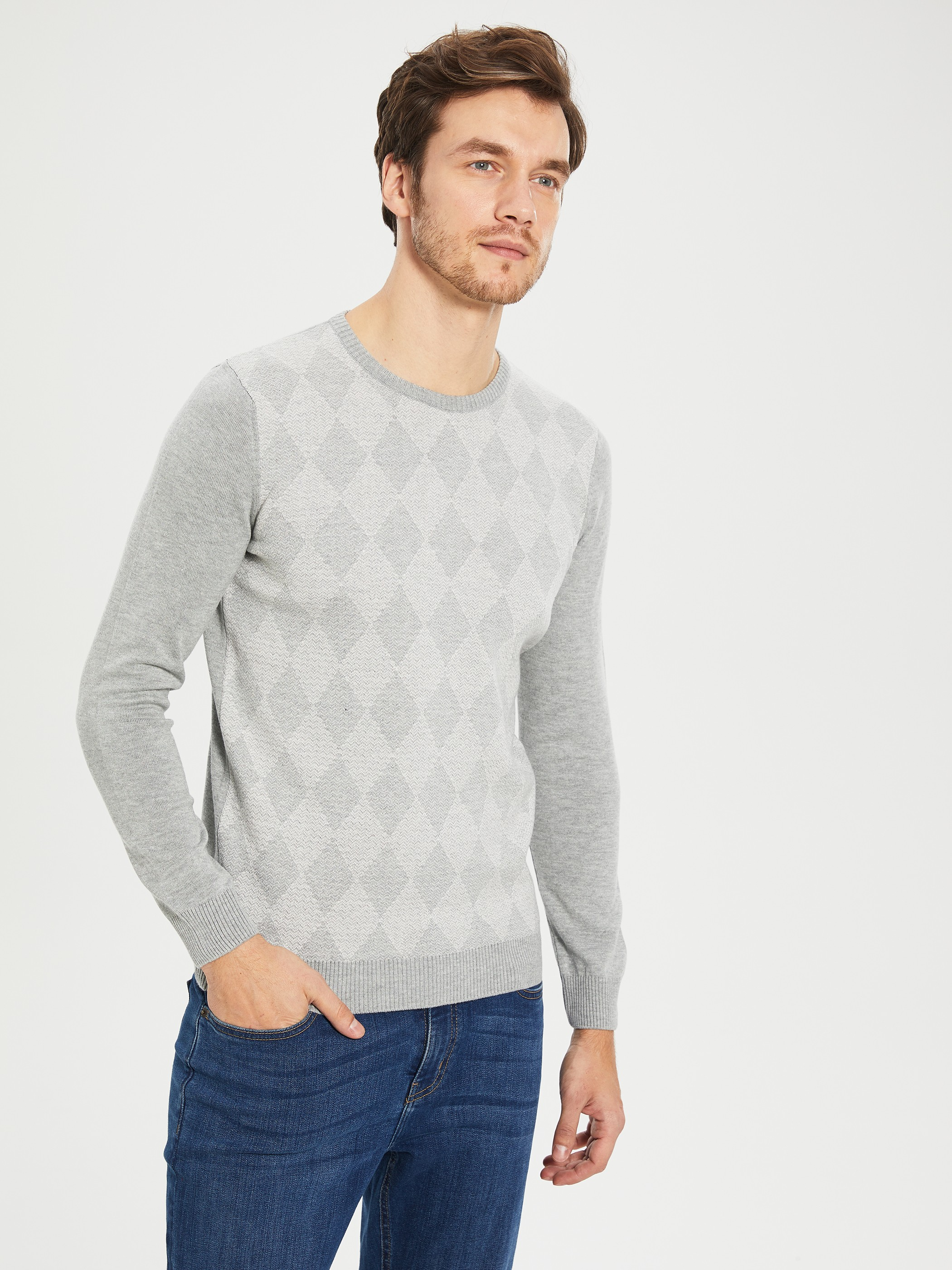 GREY - Jumper - 9WS084Z8