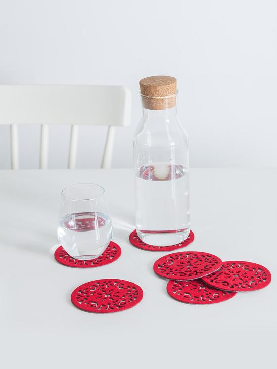 RED - Tablecloth - 7YG867Z8