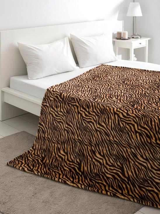 BROWN - Double Blanket - 8WH801Z8