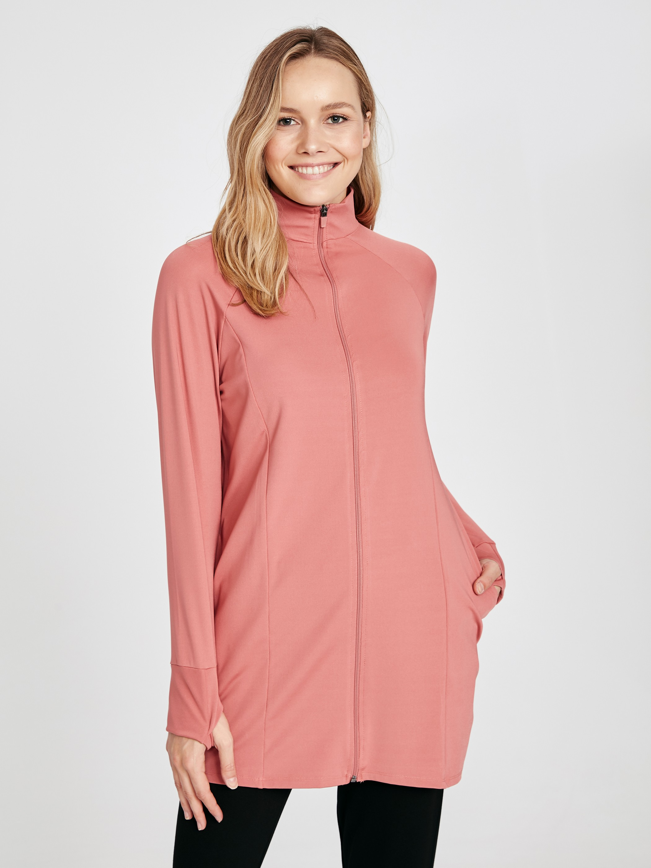 PINK - Cardigan Track Top - 9SS342Z8