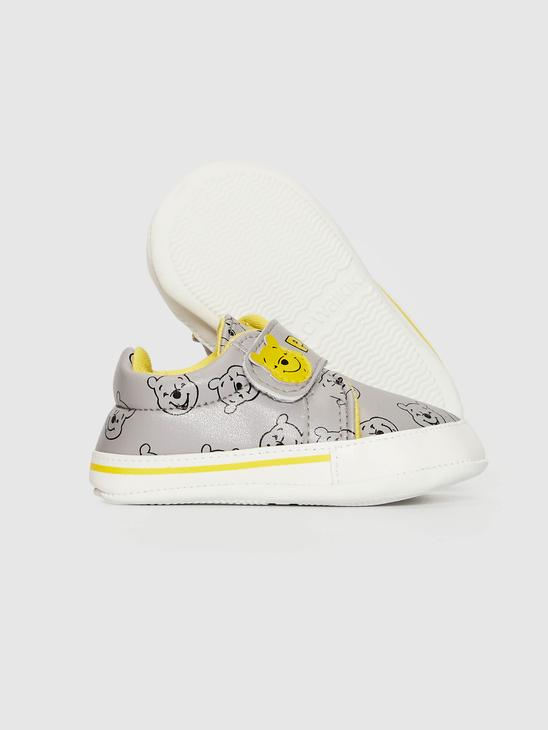 GREY - Baby Boy Pre-Walkers Home Shoes with Velcro - 0WIO35Z1