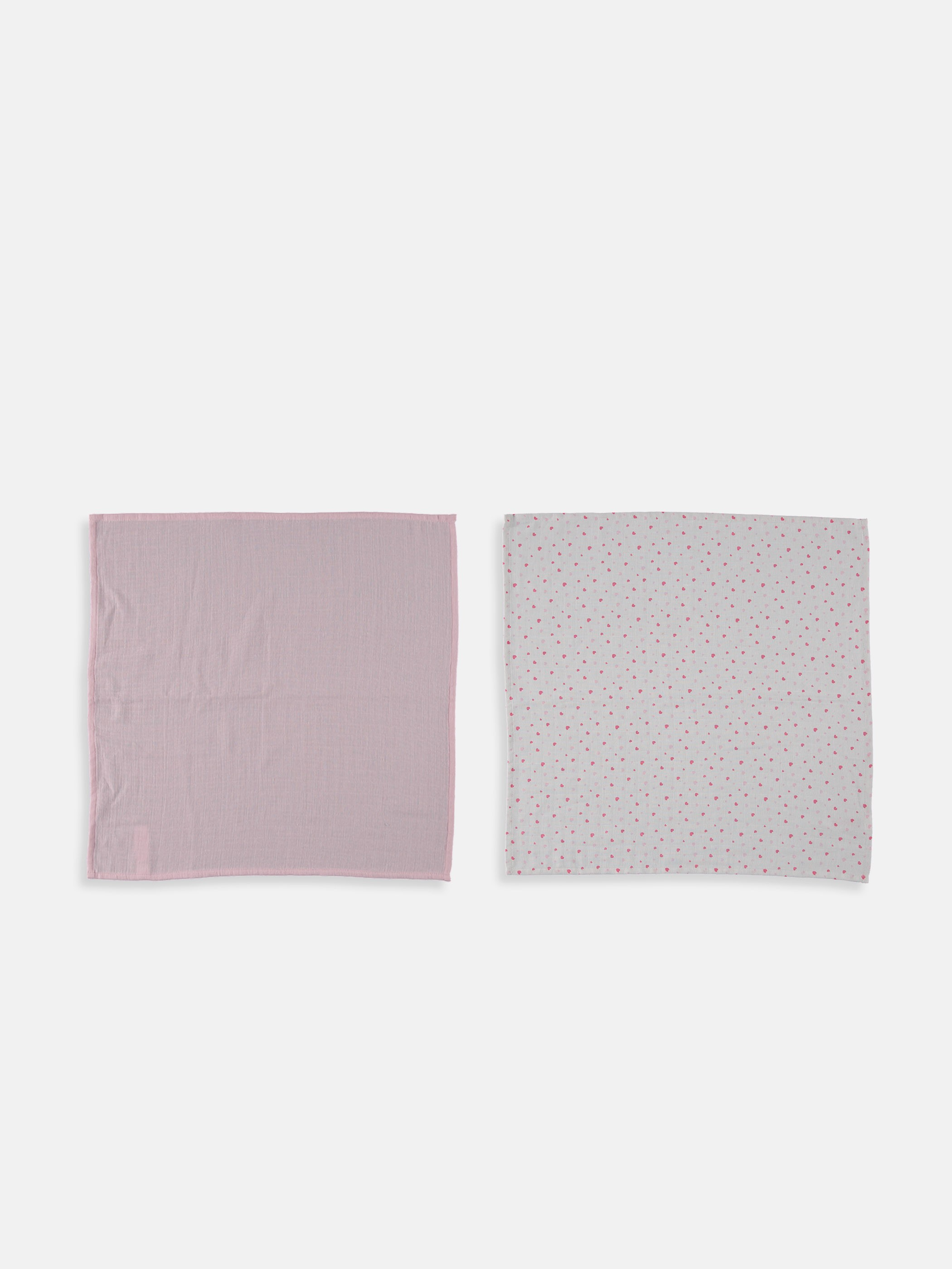 PINK - 2-pack Baby Girl's Muslin Square - 9S3790Z1