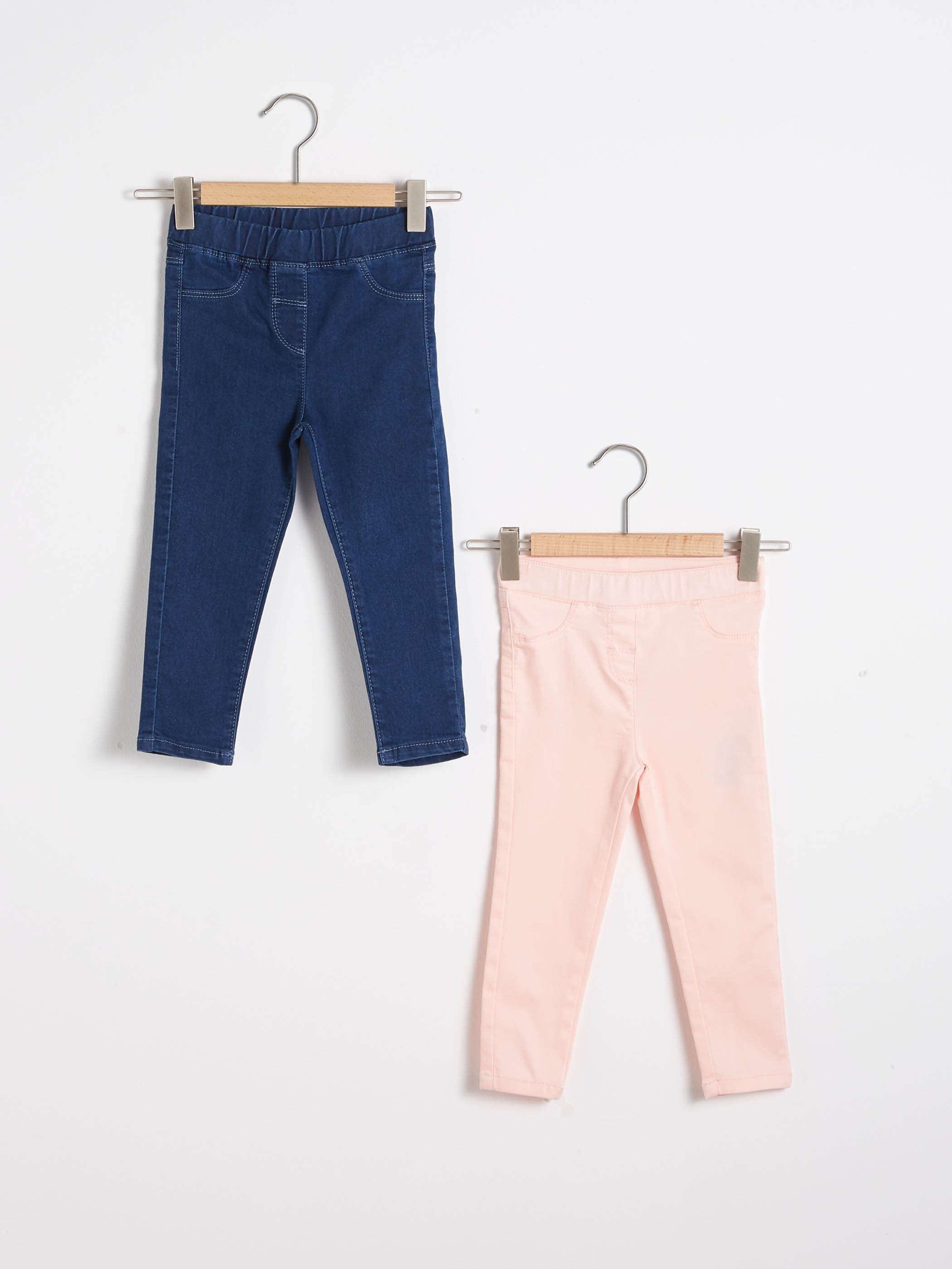PINK - 2-pack Baby Girl's Trousers - S1DD98Z1