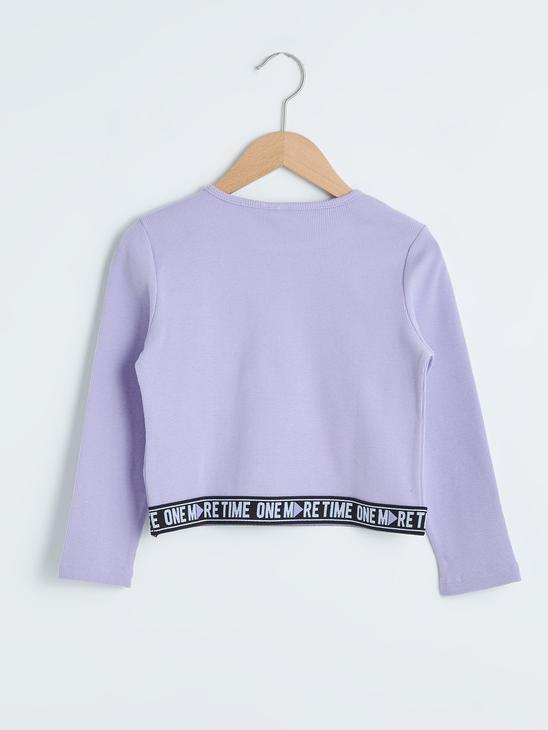 LILAC - Girl's Slogan Lettering Printed T-Shirt - 0WIJ90Z4