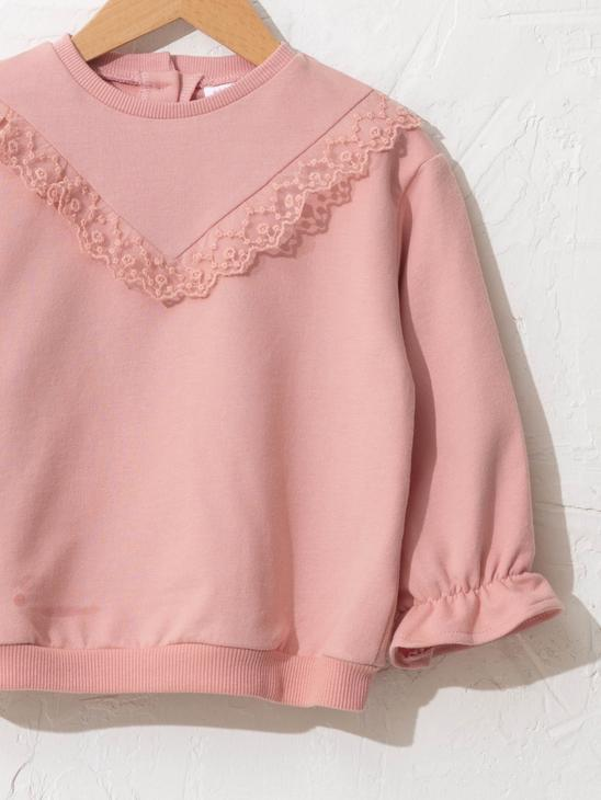 PINK - Baby Girl's Sweatshirt and Trousers - S17390Z1