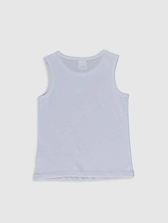 WHITE - Baby Boy's Cotton Tank Top - 0SY830Z1